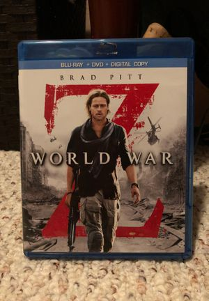 World War Z DVD for Sale in Keizer, OR