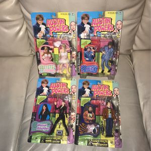 Austin Powers Series 2 Collectible Figurines for Sale in Lexington, KY