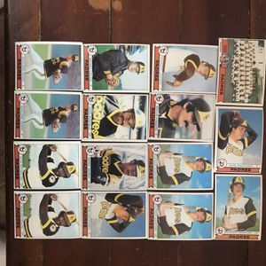 Topps Padres 1979 Baseball Cards for Sale in St. Charles, IL