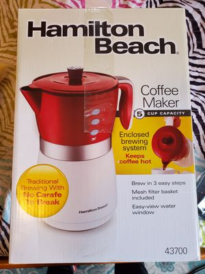 New Hamilton Beach Coffee Maker for Sale in San Diego, CA