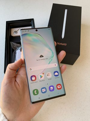 Samsung Note 10 256gb Aurora Glow GSM Unlocked for Sale in Chicago, IL
