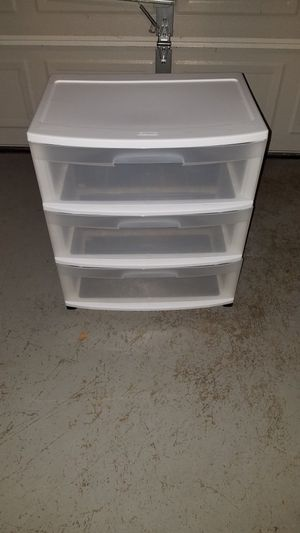 Plastic storage container for Sale in Ashburn, VA