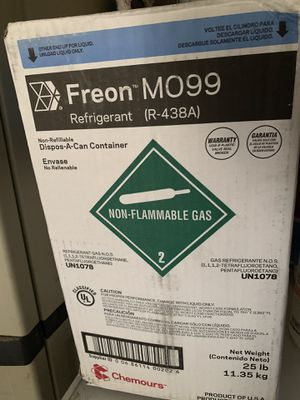 R22 replacement Freon M099 R438A New!! for Sale in McDonough, GA