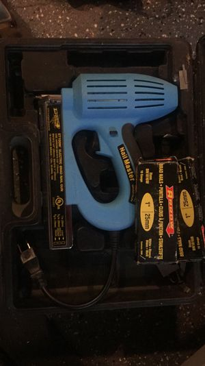 ARROW NAIL MASTER ELECTRIC BRAD NAIL GUN ET100M for Sale in Boston, MA