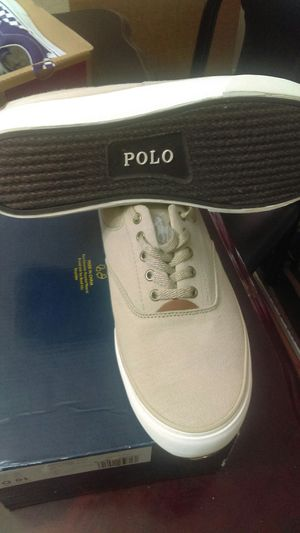 Tenis nuevos size 10 de hombre marca polo Ralph Lauren new never used for Sale in Baldwin Park, CA