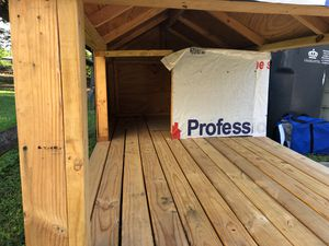 The Real Dog House!!! This is a 4x10 great addition for your pets outdoor comfort. for Sale in Charlotte, NC
