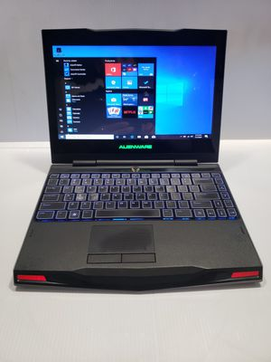 Alienware Laptop in very good condition i7, 250 gb solid state drive and 8gb ram for Sale in Garden Grove, CA