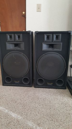 15 inch Jensen speakers (2) for Sale in Tacoma, WA
