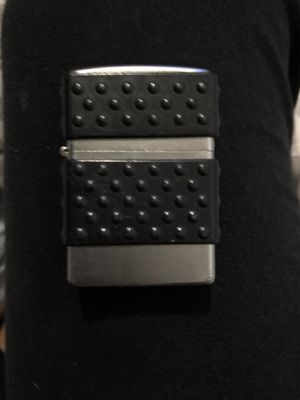 Silver and Black Zippo for Sale in Nashville, TN