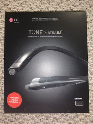 LG Tone Platinum Bluetooth Headset for Sale in Avon, OH