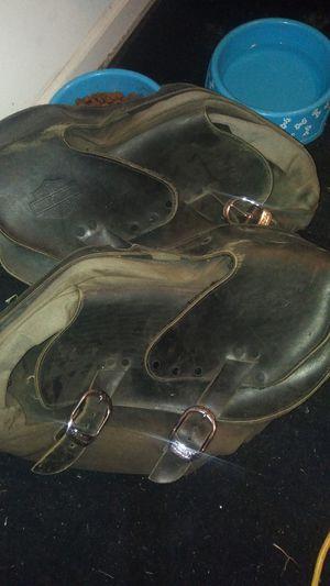 Harley Davidson saddlebags. for Sale in Lawrence, KS