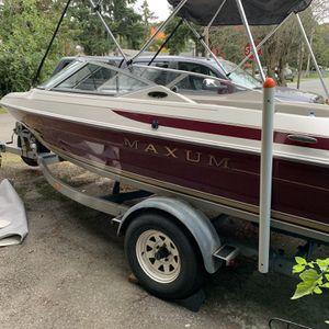 1995 maxum boat and trailer, 90 hp 2006 mercury 4 stroke for Sale in Renton, WA