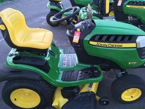 John Deere E170 25-HP V-twin Side By Side Hydrostatic 48-in Riding Lawn Mower for Sale in North Attleborough, MA