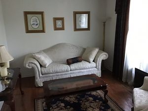 Formal Living Room with sofa, chair and 3 tables for Sale in Kennesaw, GA