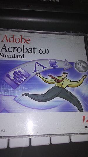Adobe Acrobat 6.0 standard has key code for Sale in Pismo Beach, CA