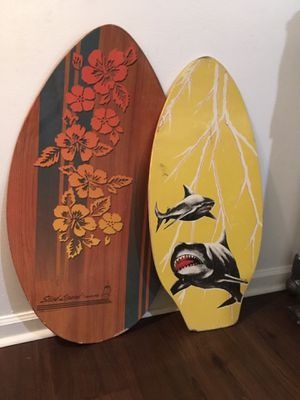 2 vintage wood water boards for Sale in West Palm Beach, FL