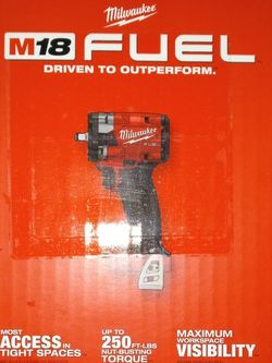 """Milwaukee M18 FUEL 3/8"""" Impact 3rd Generation 2854-20 for Sale in Tacoma,  WA"""