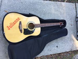 Washburn Lyon electric acoustic guitar super nice condition for Sale in Pinellas Park, FL