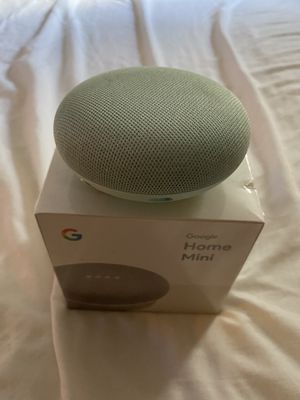 Two Google Home Mini ( one not opened ) for Sale in Missouri City, TX