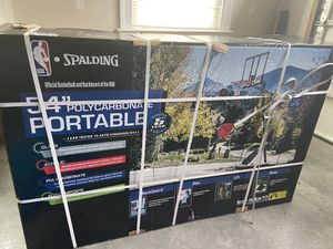 "Basketball Hoop- Spalding 54"" -NEW in box for Sale in Stone Ridge, VA"