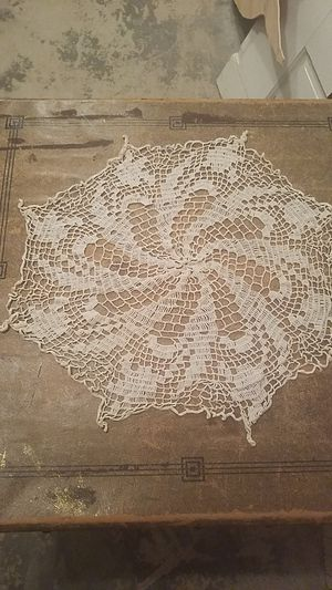 Vintage crocheted doily for Sale in Snohomish, WA