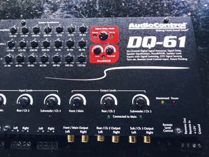 Audiocontrol dq61 digital sound processor equalizer for Sale in Akron, OH