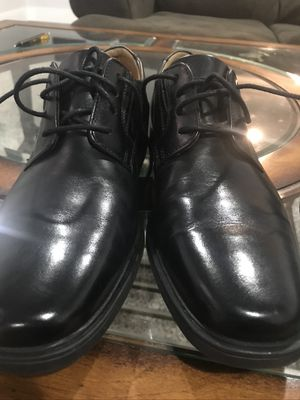 Tilden Cap Black Leather Men's Clarks for Sale in Lakewood, CO