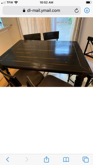Farm house style dining table for Sale in Hillsboro, OR