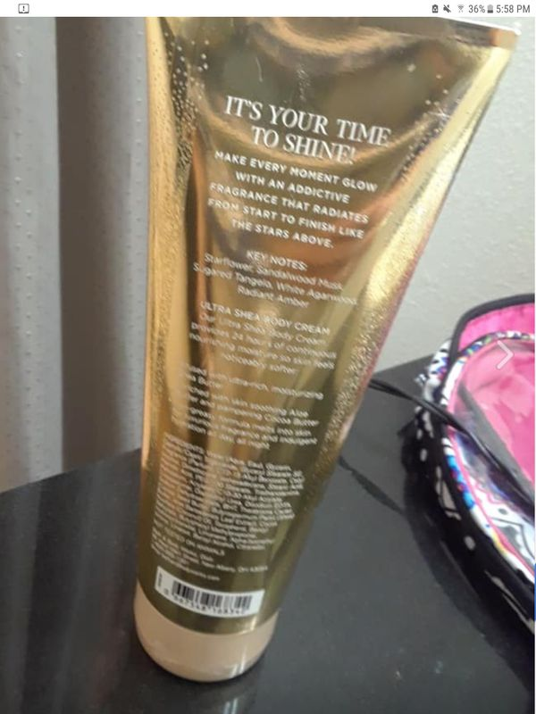BATH & BODY WORKS IN THE STARS LOTION