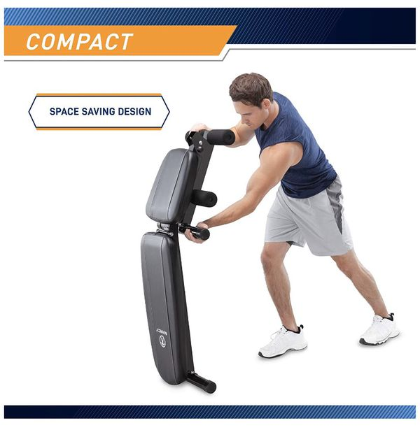 Multi-Position Workout Utility Bench for Home Gym Weightlifting and Strength Training Press Muscle Lifting Dumbell Fly