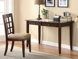 Cherry desk and chair for Sale in San Leandro, CA