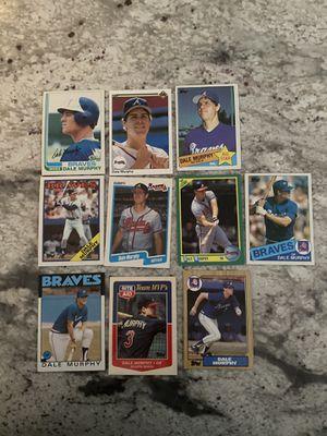 Dale Murphy Baseball Card Lot for Sale in Vienna, VA