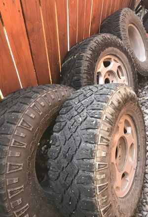 Wrangler good year tires for Sale in Montrose, CO