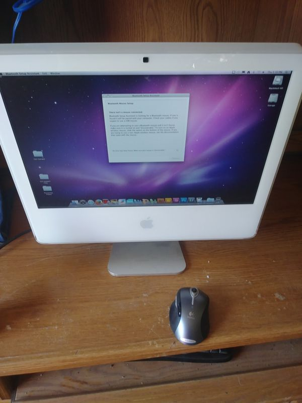 Imac 2 n 1 with wireless blue tooth mouse