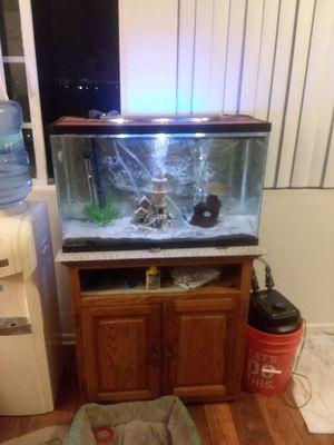 30 gallon aquarium and all equipment for Sale in San Diego, CA