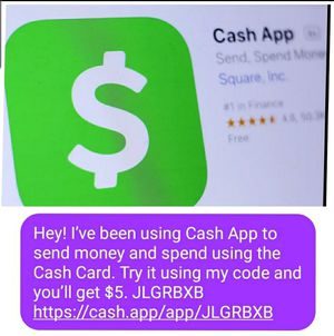 Get five bucks for using Cashapp for Sale in Baywood-Los Osos, CA
