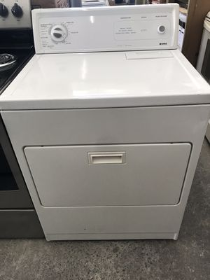 Used,elec dryer , Kenmore , white color, heavy duty, super capacity plus, great condition for Sale in San Jose, CA