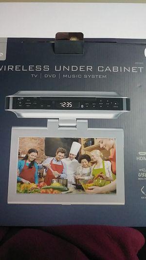 Wireless under cabnet TV/DVD/Music system for Sale in Salt Lake City, UT