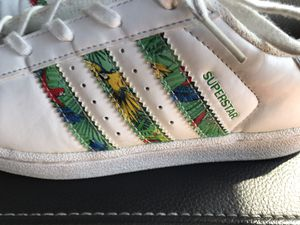 Like new girls adidas superstar sneakers for Sale in Kenneth City, FL