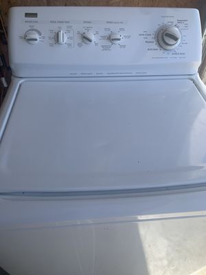 Heavy duty Kenmore washer king size capacity and dryer electric dryer for Sale in Perris, CA