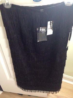 Express black fringe dress for Sale in Boston, MA