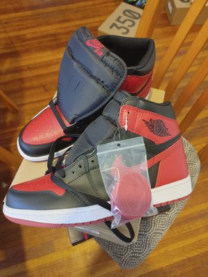 Jordan 1 bred size 9 or womens 10.5 for Sale in Buffalo, NY