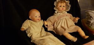 Antique german (1924) and (1956) vintage dolls for Sale in Austin, TX