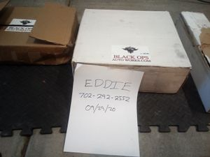 Billet aluminum control arms by Black Ops. Dodge Durango Jeep Cherokee, SRT, trackhawk. for Sale in Las Vegas, NV