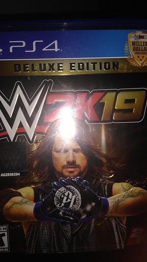 WWE 2k19 ps4 for Sale in North Salt Lake, UT