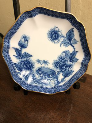 Vtg Mottahedeh Imperial Blue Ring Tray- Reserve Collection for Sale in Naples, FL