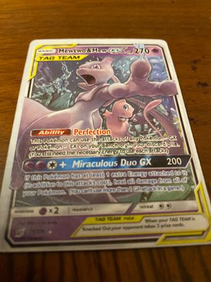 Mewtwo and mew GX for Sale in Houston, TX