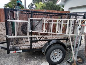Utility trailer in good condition for Sale in Hollywood, FL