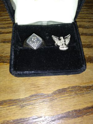 BSA Sterling ring and pin for Sale in Halifax, PA
