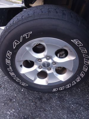 5 Jeep Wrangler Tires & Wheels for Sale in Scarsdale, NY